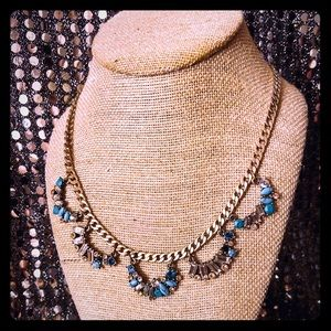Aquamarina Collar Necklace